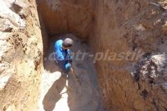 Фото №56 Песчаная подушка под систему очистки Астра 10