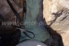 Фото №79 Укрывание поля фильтрации геотканью