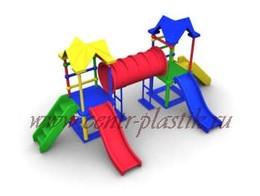 Игровые детские пластиковые комплексы