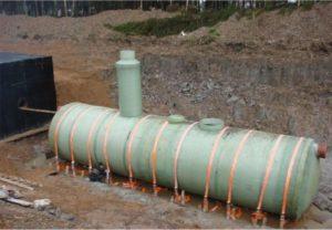 Ливневка производительностью 70л.с. Ø3200 L 13600 пескоотделитель+маслобензоотделитель+сорбционный фильтр