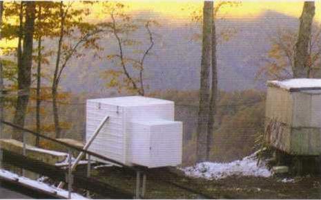 Размещение станций ЮНИЛОС в условиях высокогорья