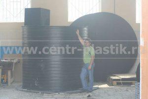 подземная накопительная емкость для питьевой воды объемом 8000 литров