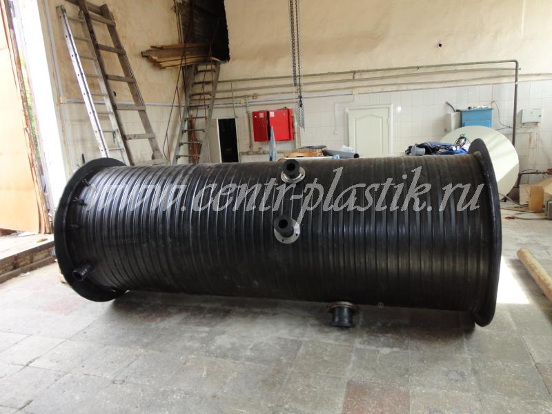 Профессиональная канализационная насосная станция большой производительности Ø2000 h3500