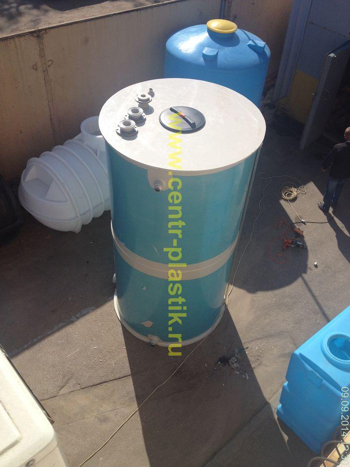Емкость накопитель объемом 3,3 м³ для сбора конденсата