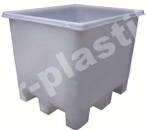 Контейнер пластмассовый 1000 л для пищевых продуктов (1000С)