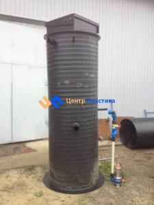 Канализационная насосная станция Germes-Plast KNS Ф 1000 Н 3000 на базе насосов Pedrollo Bcm 10\50