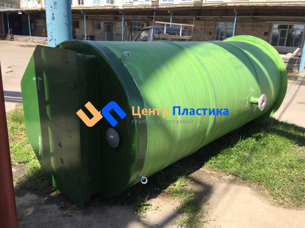 Комплектная стеклопластиковая насосная станция Germes-Plast KNS СП 1,5/5,5