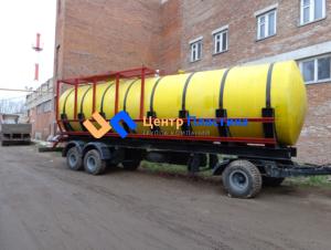 Резервуар для агрессивых сред (для кислои и щелочей)