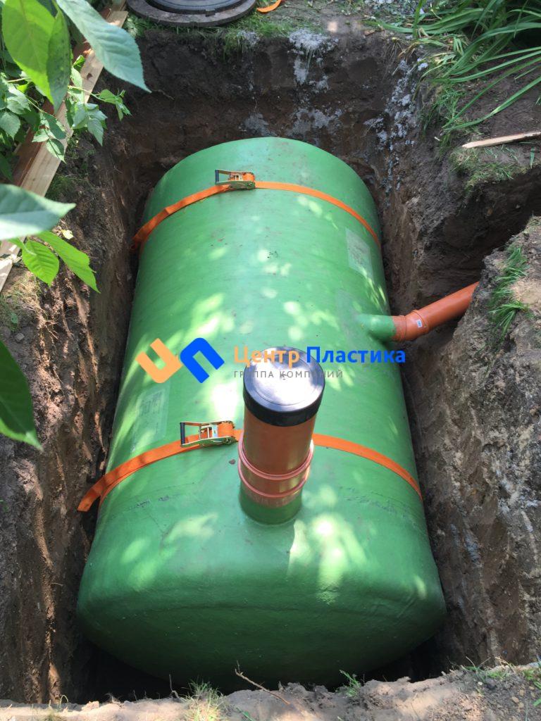 Стеклопластиковая емкость 4 м³