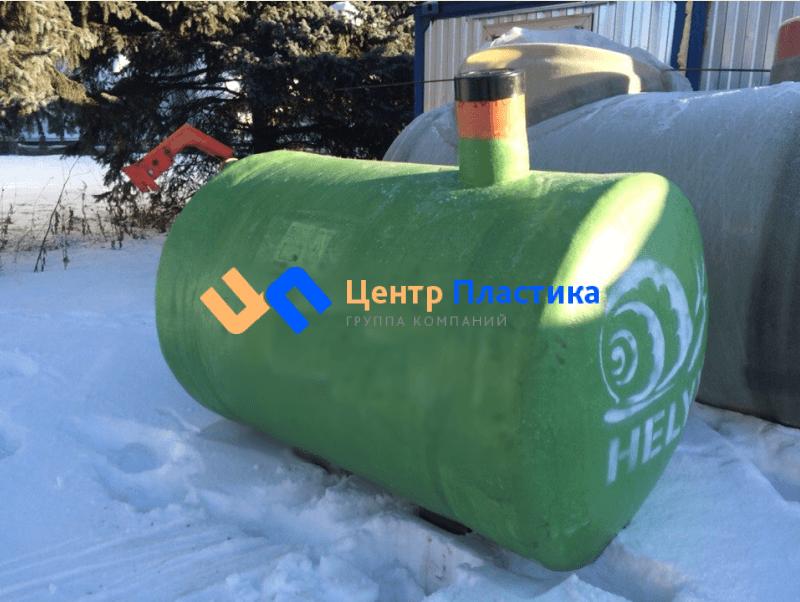 Стеклопластиковая емкость 2 м³