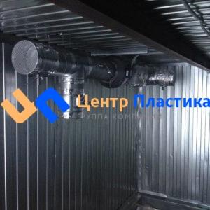 Павильон для КНС 6000х2400х2500 с принудительно-вытяжной вентиляцией