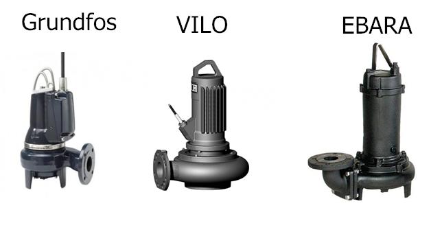 насосное оборудование производительностью 500 ÷ 1000 м3/ч и напором 10 ÷ 80 м
