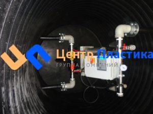 Насосная станция повышения давления, для питьевого водоснабжения крематория, производительностью 5 м³/час напором 20 метров.