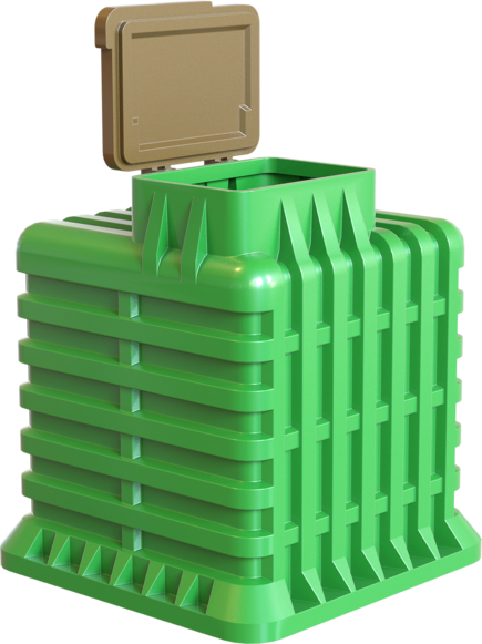 Пластиковый погреб TORTILA 3.0 серия Modern