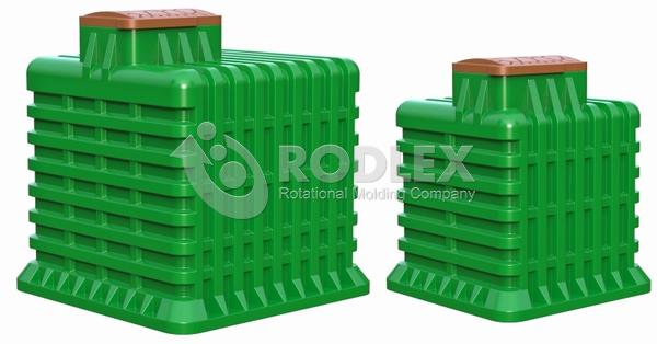 Погреба Rodlex различного объема 10 и 7 куб.м